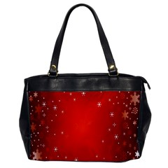 Red Holiday Background Red Abstract With Star Office Handbags