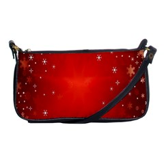Red Holiday Background Red Abstract With Star Shoulder Clutch Bags
