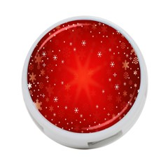 Red Holiday Background Red Abstract With Star 4-Port USB Hub (One Side)