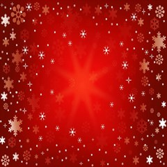 Red Holiday Background Red Abstract With Star Magic Photo Cubes