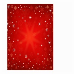 Red Holiday Background Red Abstract With Star Small Garden Flag (two Sides)