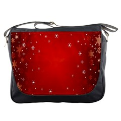 Red Holiday Background Red Abstract With Star Messenger Bags