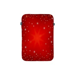 Red Holiday Background Red Abstract With Star Apple iPad Mini Protective Soft Cases