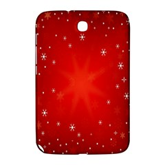 Red Holiday Background Red Abstract With Star Samsung Galaxy Note 8.0 N5100 Hardshell Case