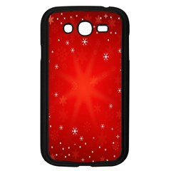 Red Holiday Background Red Abstract With Star Samsung Galaxy Grand DUOS I9082 Case (Black)