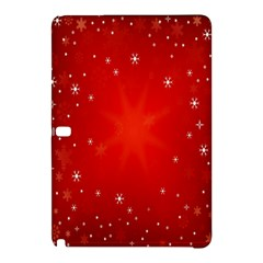 Red Holiday Background Red Abstract With Star Samsung Galaxy Tab Pro 12.2 Hardshell Case