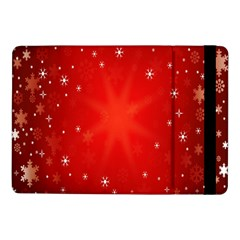 Red Holiday Background Red Abstract With Star Samsung Galaxy Tab Pro 10.1  Flip Case