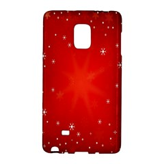 Red Holiday Background Red Abstract With Star Galaxy Note Edge