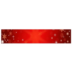 Red Holiday Background Red Abstract With Star Flano Scarf (small)