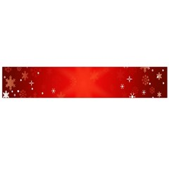 Red Holiday Background Red Abstract With Star Flano Scarf (Large)