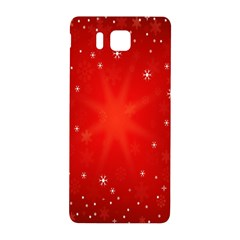 Red Holiday Background Red Abstract With Star Samsung Galaxy Alpha Hardshell Back Case