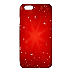 Red Holiday Background Red Abstract With Star iPhone 6/6S TPU Case