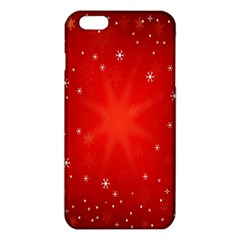 Red Holiday Background Red Abstract With Star Iphone 6 Plus/6s Plus Tpu Case