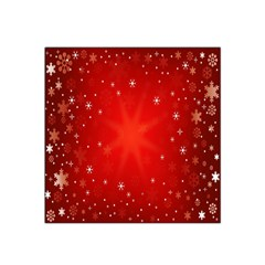 Red Holiday Background Red Abstract With Star Satin Bandana Scarf