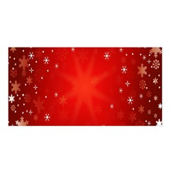 Red Holiday Background Red Abstract With Star Satin Shawl