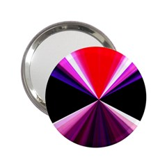 Red And Purple Triangles Abstract Pattern Background 2.25  Handbag Mirrors