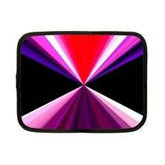 Red And Purple Triangles Abstract Pattern Background Netbook Case (small)