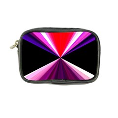 Red And Purple Triangles Abstract Pattern Background Coin Purse