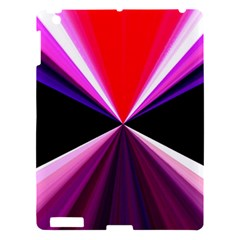 Red And Purple Triangles Abstract Pattern Background Apple Ipad 3/4 Hardshell Case