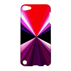 Red And Purple Triangles Abstract Pattern Background Apple iPod Touch 5 Hardshell Case