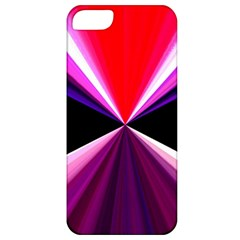 Red And Purple Triangles Abstract Pattern Background Apple Iphone 5 Classic Hardshell Case