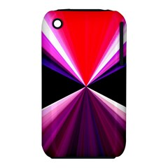 Red And Purple Triangles Abstract Pattern Background iPhone 3S/3GS