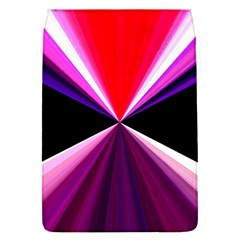 Red And Purple Triangles Abstract Pattern Background Flap Covers (S)