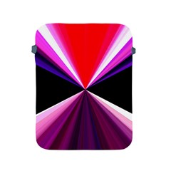 Red And Purple Triangles Abstract Pattern Background Apple Ipad 2/3/4 Protective Soft Cases