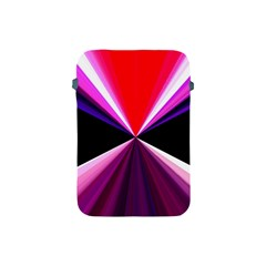 Red And Purple Triangles Abstract Pattern Background Apple Ipad Mini Protective Soft Cases
