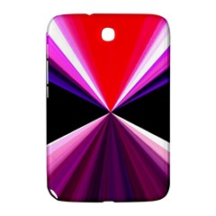 Red And Purple Triangles Abstract Pattern Background Samsung Galaxy Note 8 0 N5100 Hardshell Case