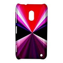 Red And Purple Triangles Abstract Pattern Background Nokia Lumia 620