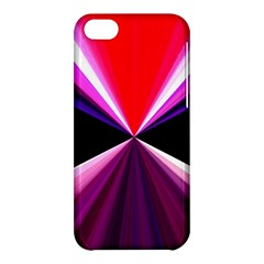 Red And Purple Triangles Abstract Pattern Background Apple iPhone 5C Hardshell Case