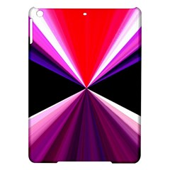 Red And Purple Triangles Abstract Pattern Background Ipad Air Hardshell Cases