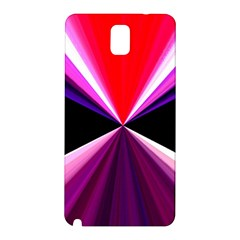 Red And Purple Triangles Abstract Pattern Background Samsung Galaxy Note 3 N9005 Hardshell Back Case