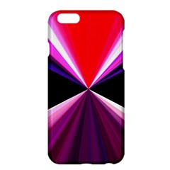 Red And Purple Triangles Abstract Pattern Background Apple Iphone 6 Plus/6s Plus Hardshell Case