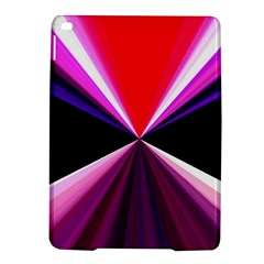 Red And Purple Triangles Abstract Pattern Background iPad Air 2 Hardshell Cases