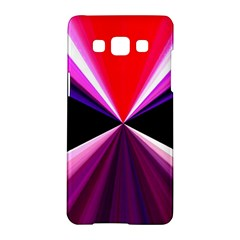 Red And Purple Triangles Abstract Pattern Background Samsung Galaxy A5 Hardshell Case