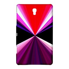 Red And Purple Triangles Abstract Pattern Background Samsung Galaxy Tab S (8.4 ) Hardshell Case