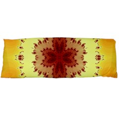 Yellow Digital Kaleidoskope Computer Graphic Body Pillow Case (Dakimakura)
