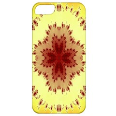 Yellow Digital Kaleidoskope Computer Graphic Apple iPhone 5 Classic Hardshell Case