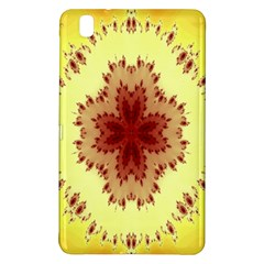 Yellow Digital Kaleidoskope Computer Graphic Samsung Galaxy Tab Pro 8 4 Hardshell Case