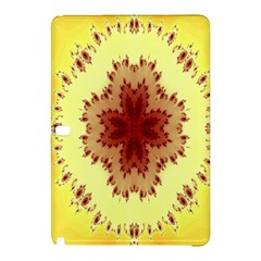 Yellow Digital Kaleidoskope Computer Graphic Samsung Galaxy Tab Pro 12 2 Hardshell Case