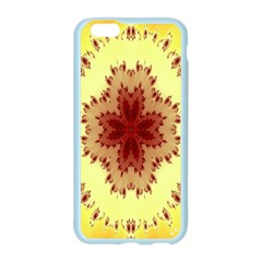 Yellow Digital Kaleidoskope Computer Graphic Apple Seamless iPhone 6/6S Case (Color)