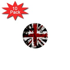 British Flag 1  Mini Buttons (10 Pack)