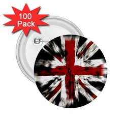 British Flag 2.25  Buttons (100 pack)