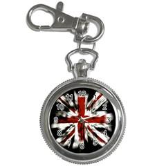 British Flag Key Chain Watches
