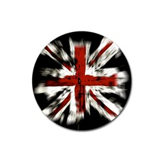 British Flag Magnet 3  (round)