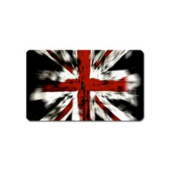 British Flag Magnet (name Card)