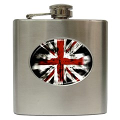 British Flag Hip Flask (6 Oz)