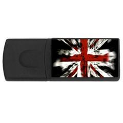 British Flag Usb Flash Drive Rectangular (4 Gb)